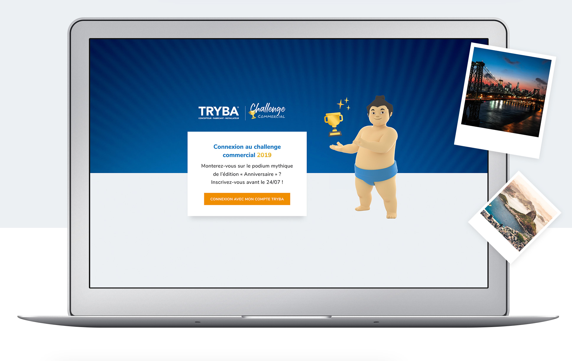 Tryba Challenge Commercial